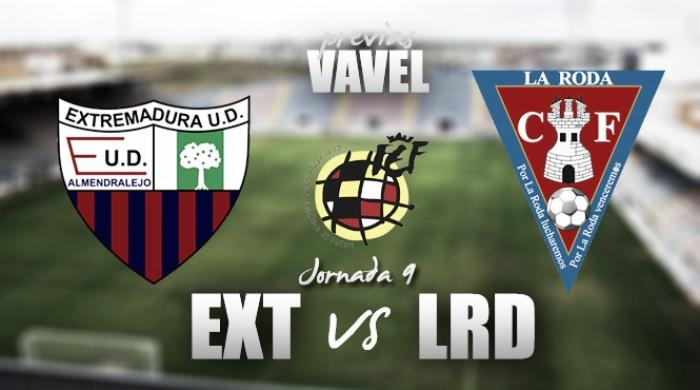 Previa Extremadura UD - La Roda CF: necesidad ante lo desconocido