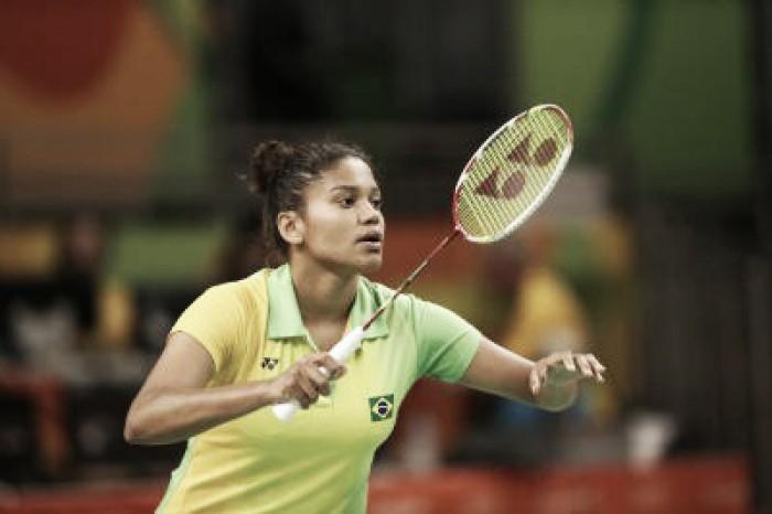 Atleta do badminton, Lohaynny Vicente demonstra orgulho mesmo com eliminação