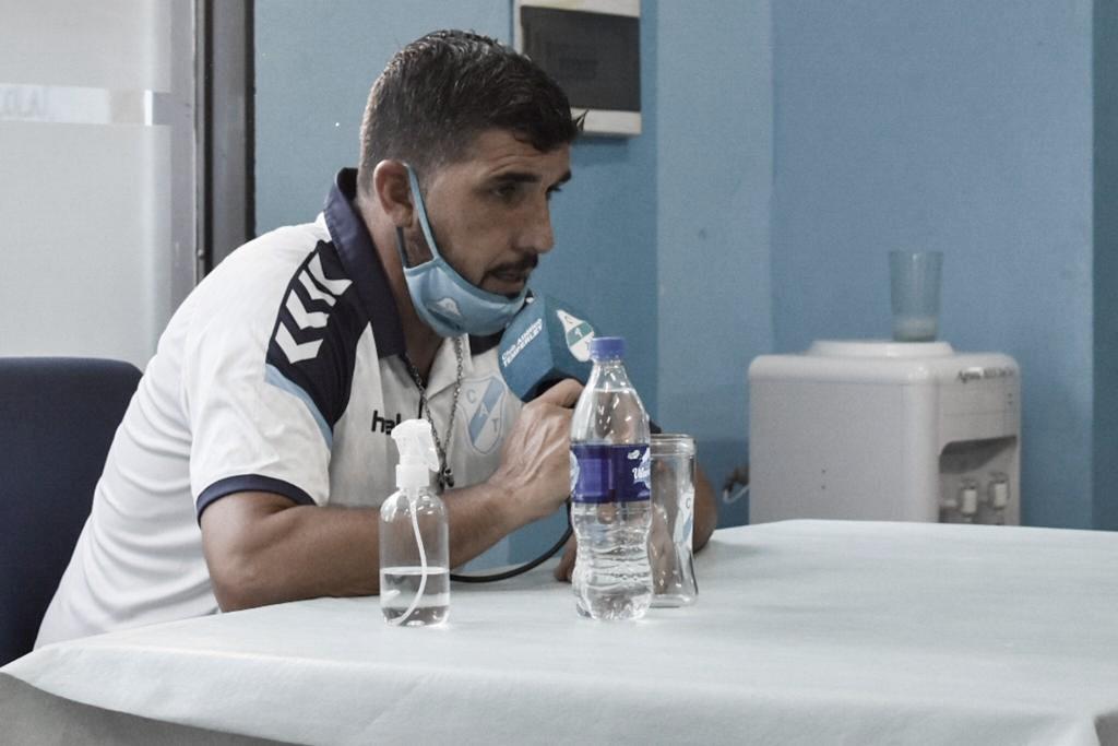 Fernando Ruiz: ''Perder no le gusta a nadie, es un proceso que recién empieza''