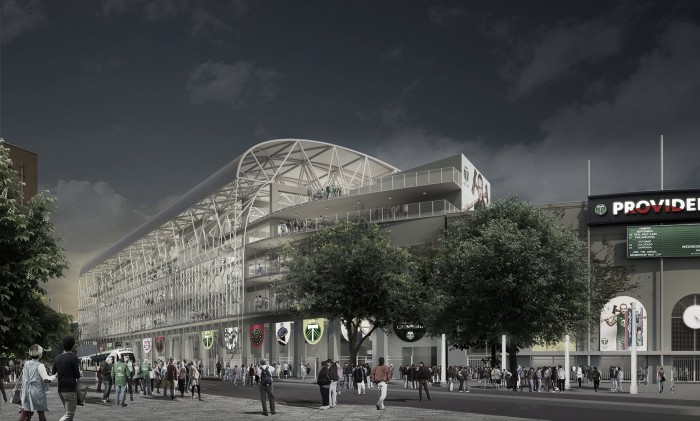 Portland Timbers announce Providence Park expansion plans