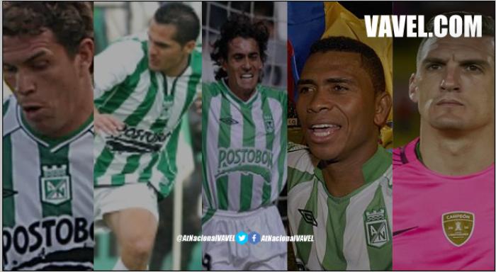 Atlético Nacional y sus foráneos, una época que cumple 14 años