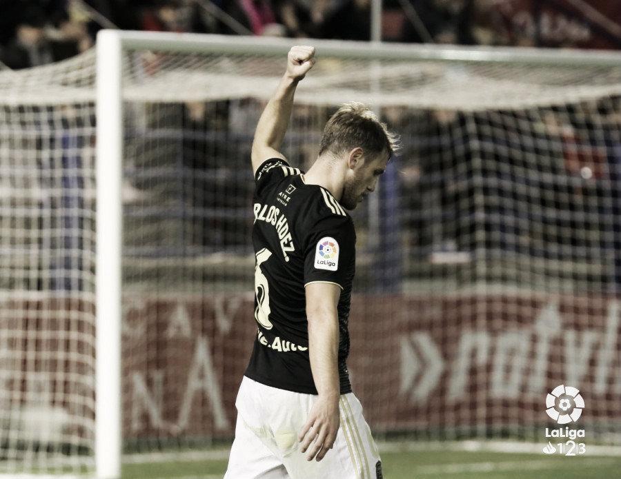 Extremadura UD - Real Oviedo: Puntuaciones del Real Oviedo en la jornada 22 de La Liga 1|2|3