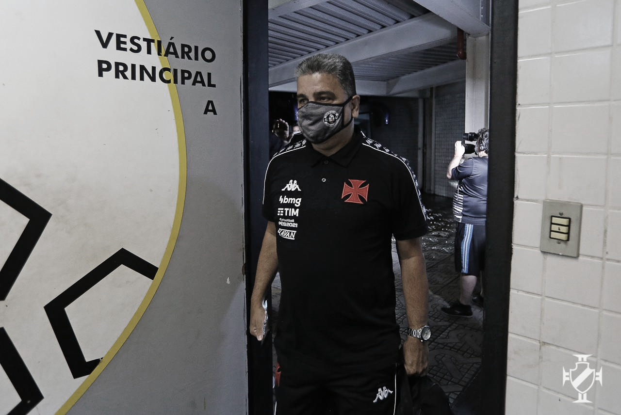 Marcelo Cabo considera 'injusto' empate do Vasco contra Fluminense