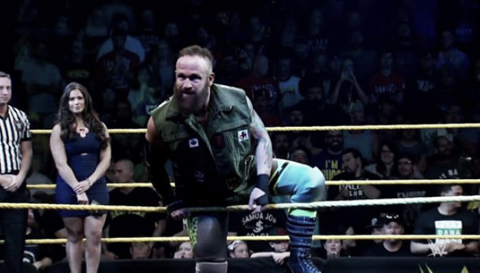 Eric Young's WWE status