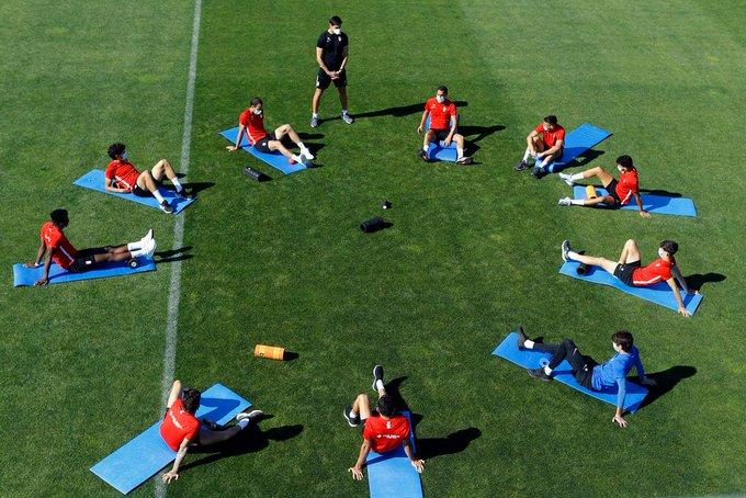 El Granada CF sigue con entrenamientos en grupo