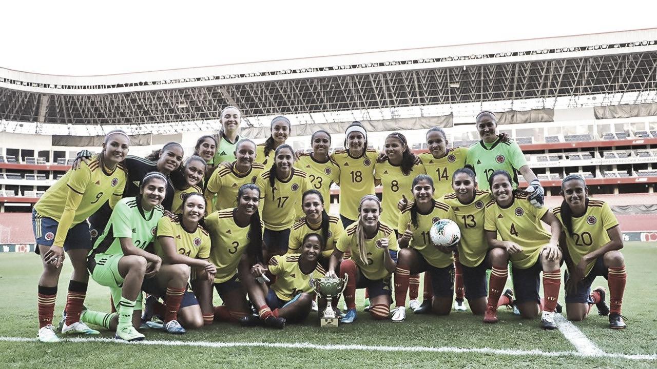 Con triunfo y póker se despidió de esta fecha de amistosos la Selección Colombia Femenina