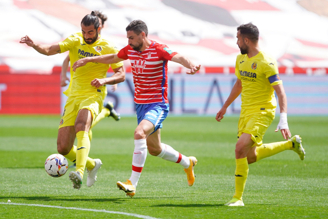 Al Granada CF se le atraganta el Villarreal