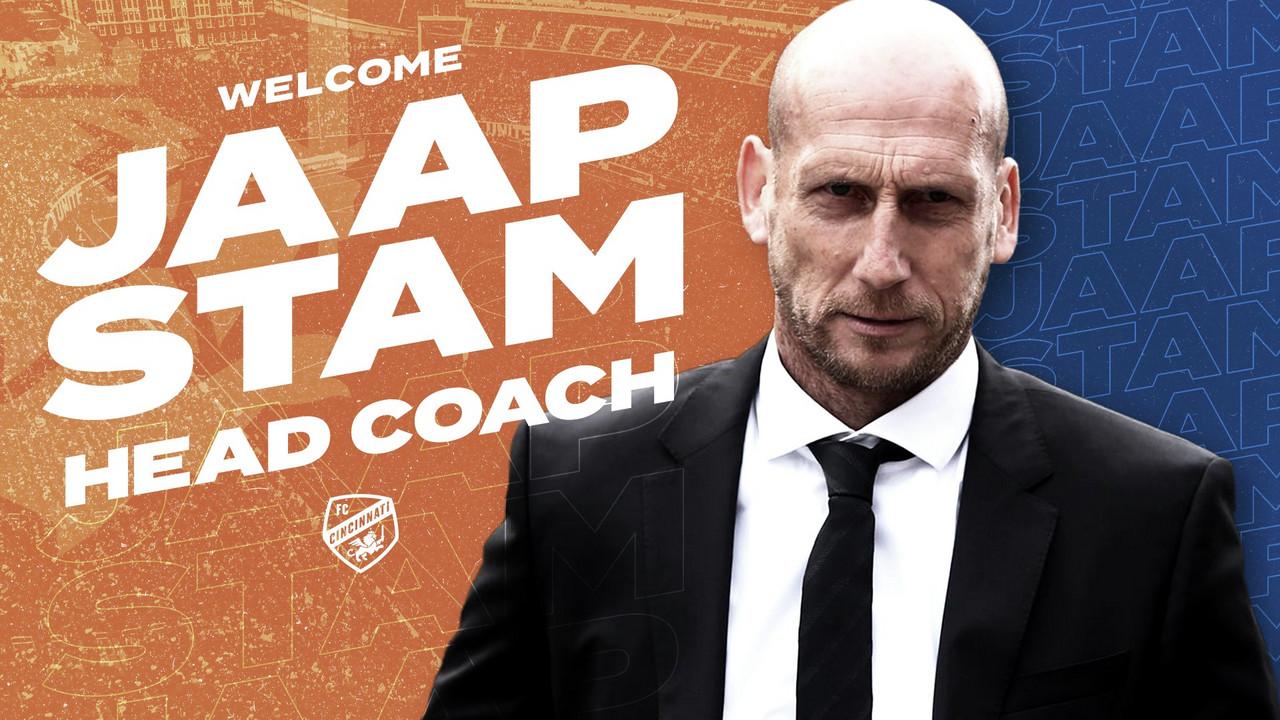Stam es el nuevo entrenador de FC Cincinnati
