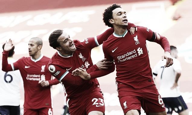 Xô, zica! Liverpool sai atrás, mas vira contra Aston Villa em Anfield