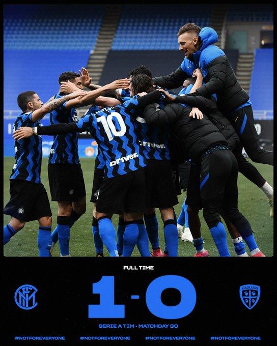 Ci pensa Darmian: l'Inter batte il Cagliari per 1-0