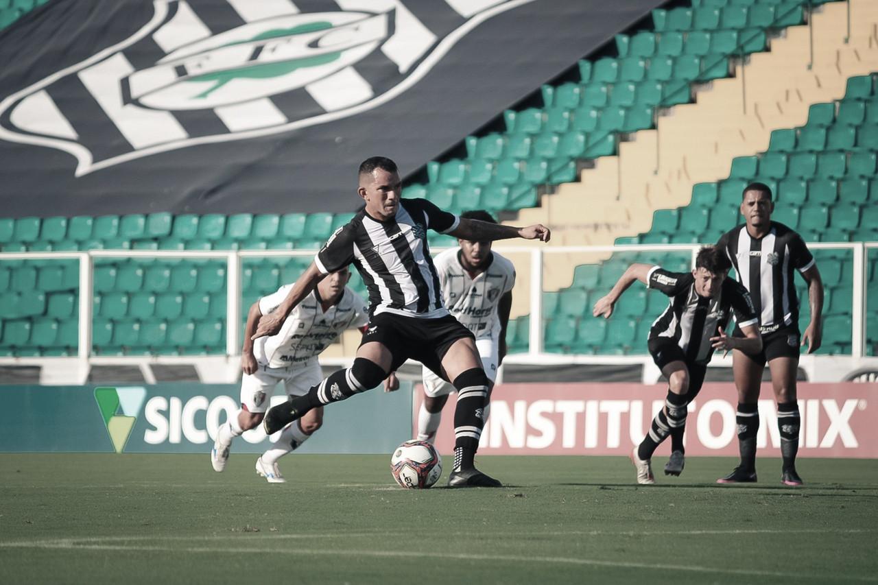 Figueirense sai na frente, mas Joinville busca empate em jogo movimentado