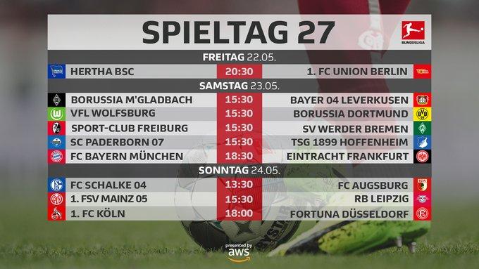 Bundesliga, Preview 27esima giornata - Si parte con il derby di Berlino