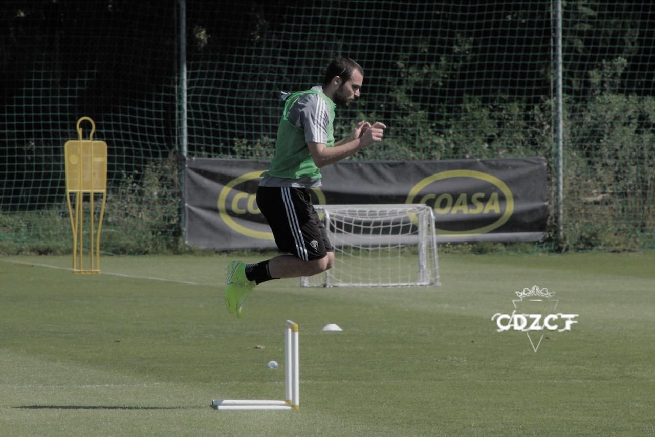 """Álvaro Giménez: """"Entrenando y con el día a día hay que volver a estar como antes"""""""