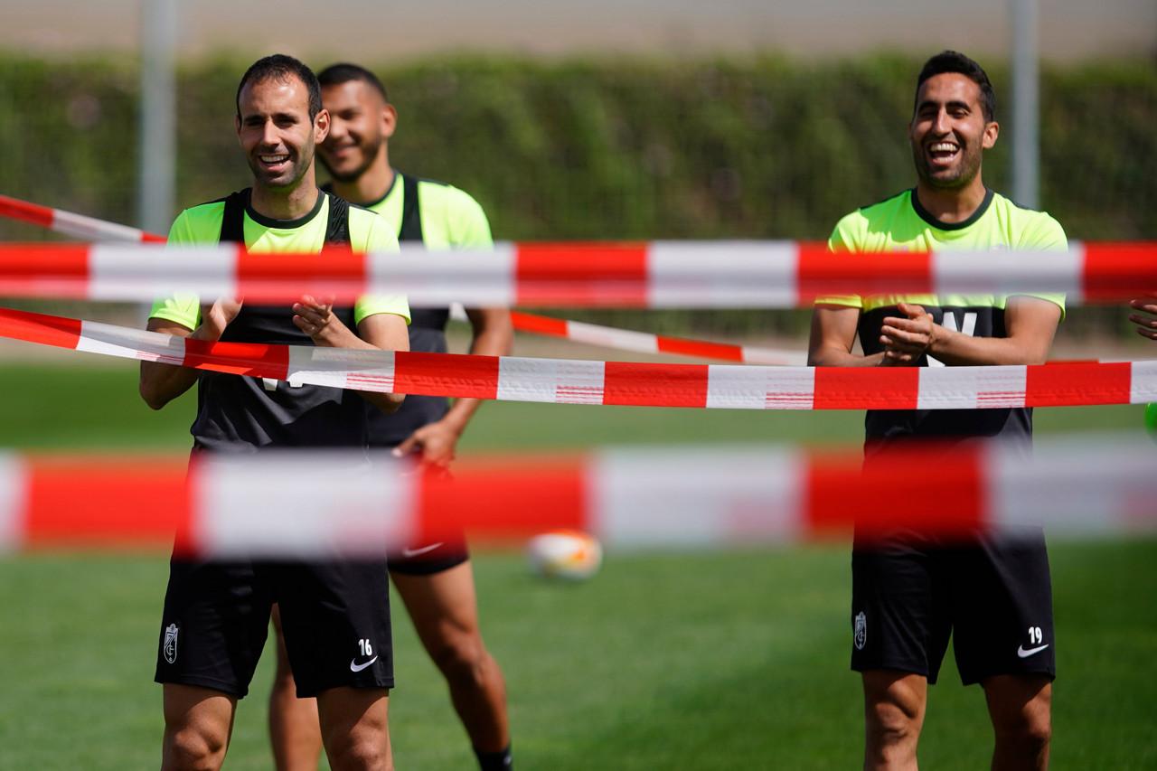 El Granada CF se prepara para medirse ante el Manchester United