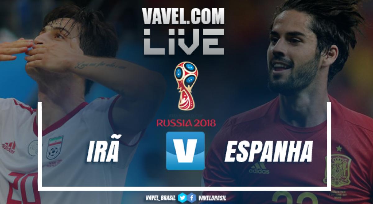 Resultado e gols de Espanha xIrã na Copa do Mundo 2018 (0-1)