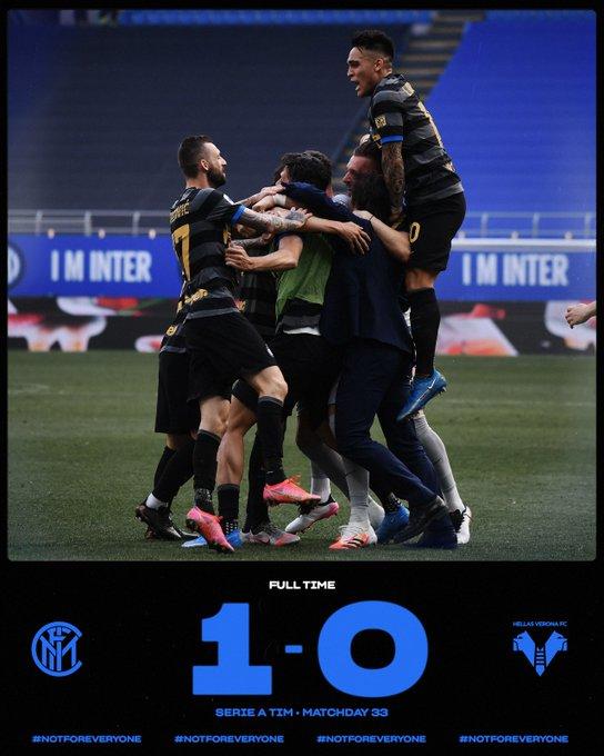 Serie A - L'Inter batte il Verona nel segno di Darmian