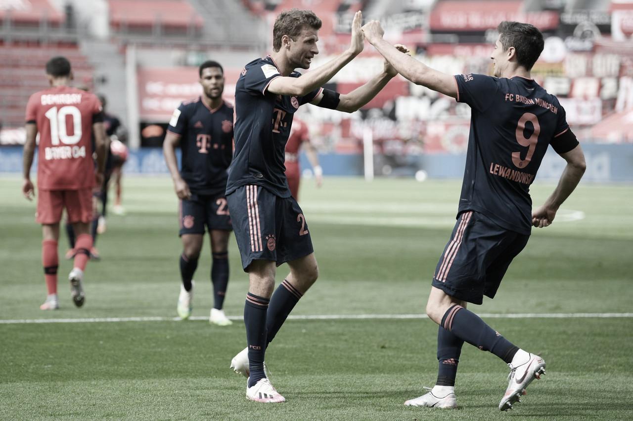 Bayern de Muniquealcança recorde de gols e derrota Bayer Leverkusen