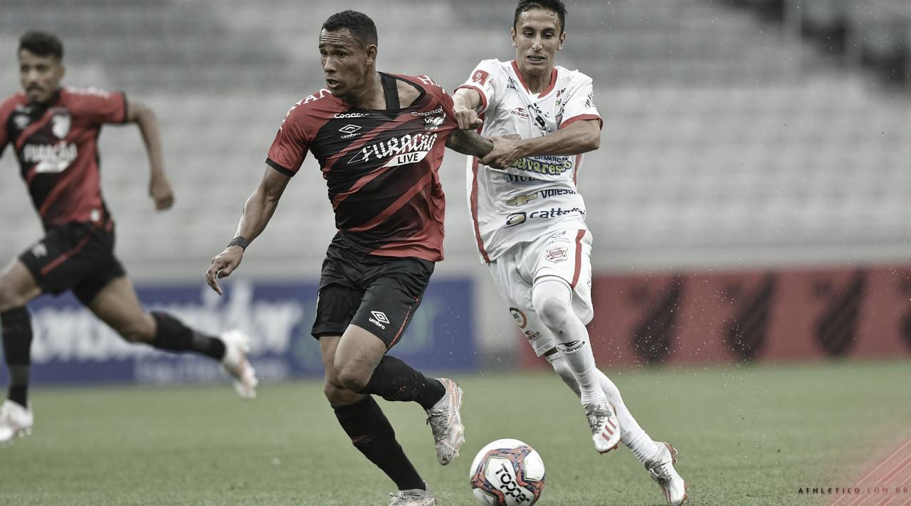 Ahtletico domina o jogo e bate Rio Branco na Arena da Baixada
