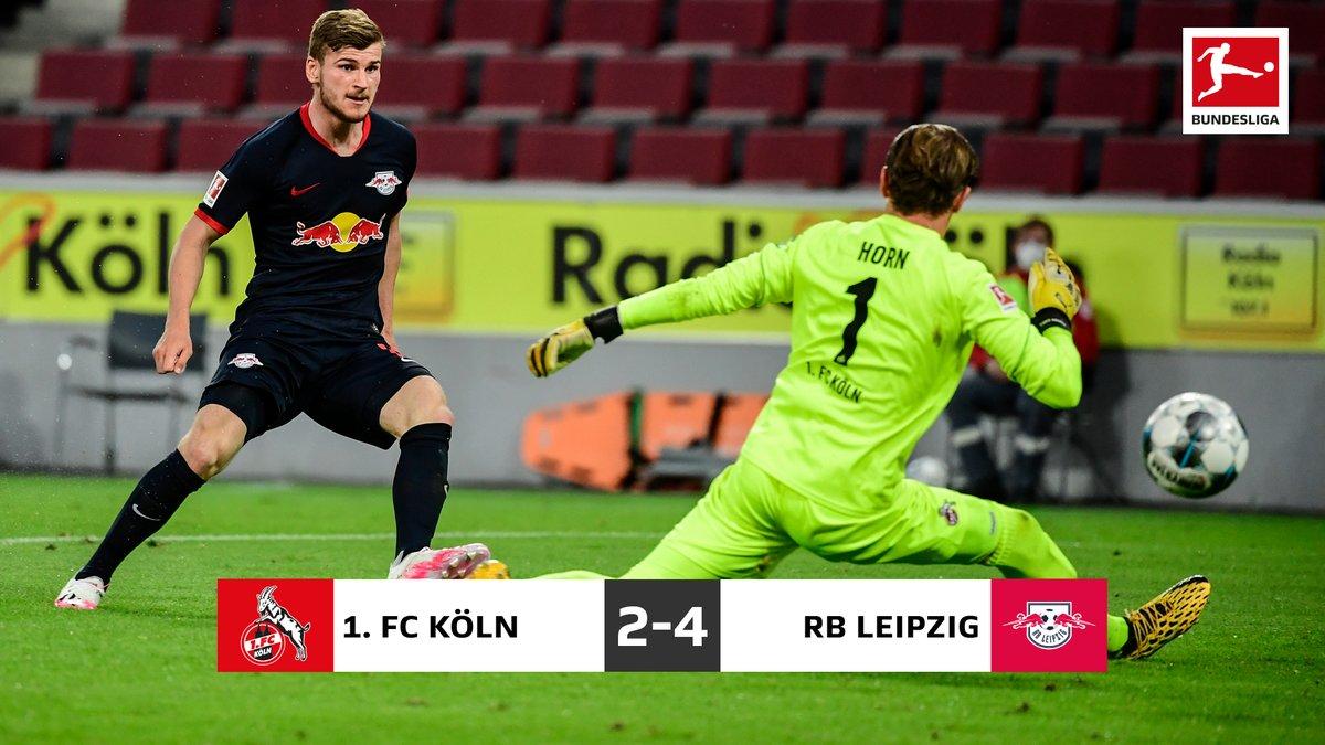 Spettacolo puro a Colonia: vince il Lipsia 4-2