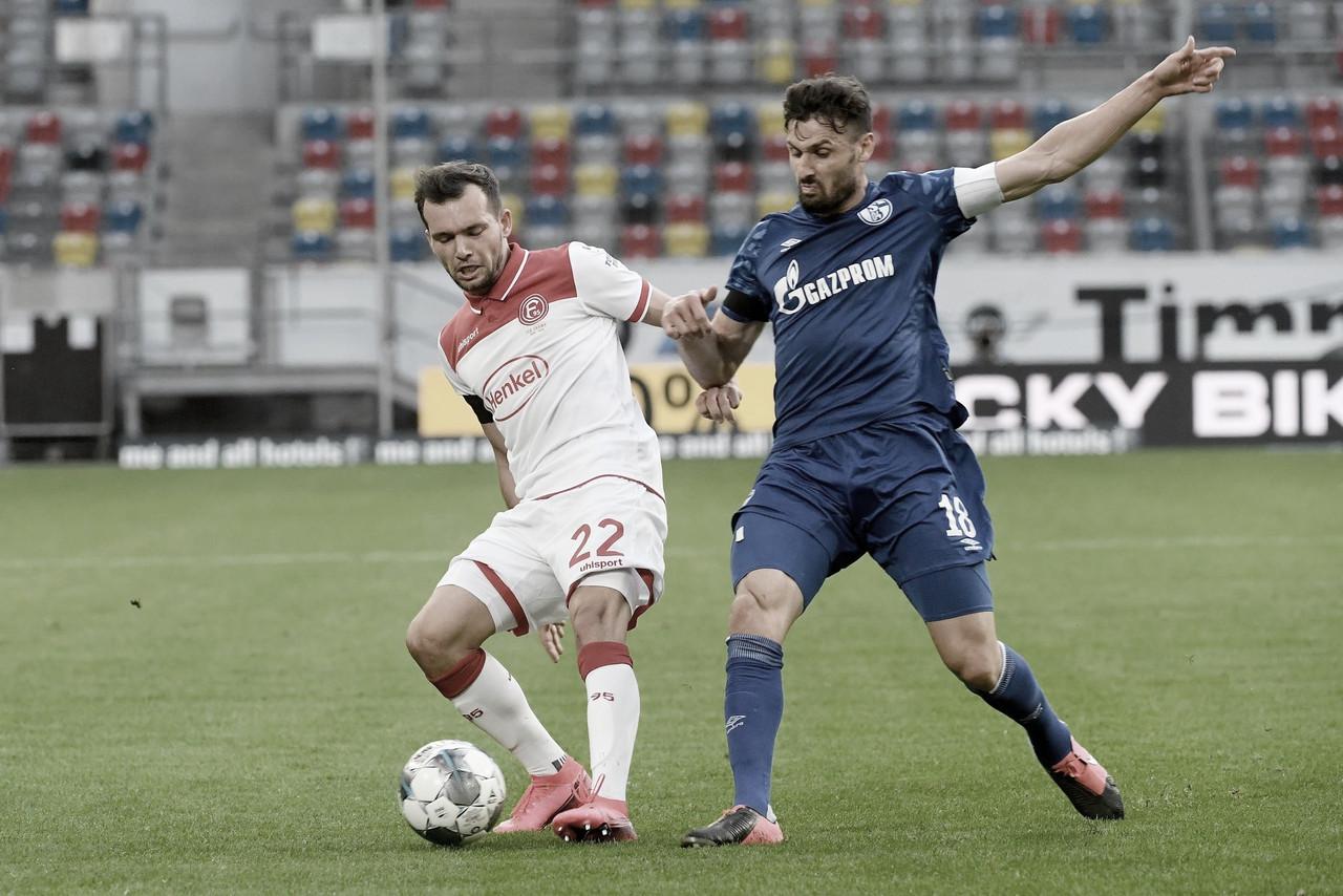 Com polêmica, Fortuna Düsseldorf vence de virada e amplia pressão no Schalke