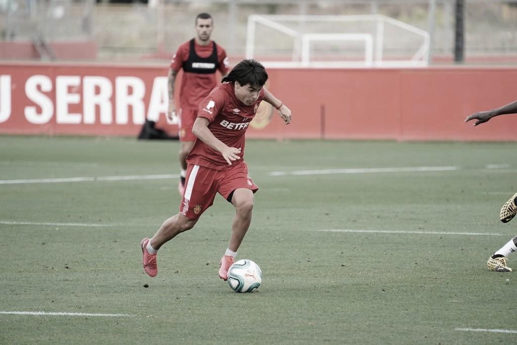Luka Romero ya entrena con el primer equipo