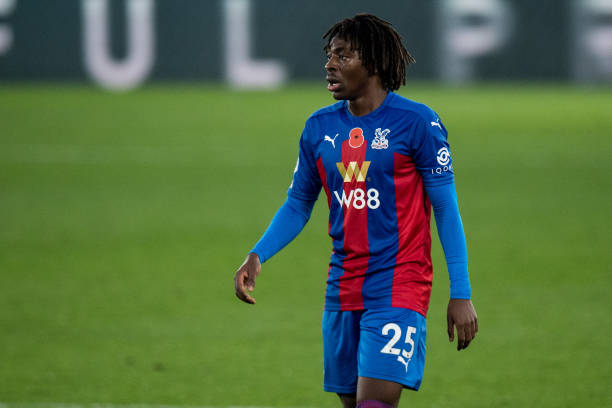 Crystal Palace could be without Eberechi Eze. Source: Getty Images