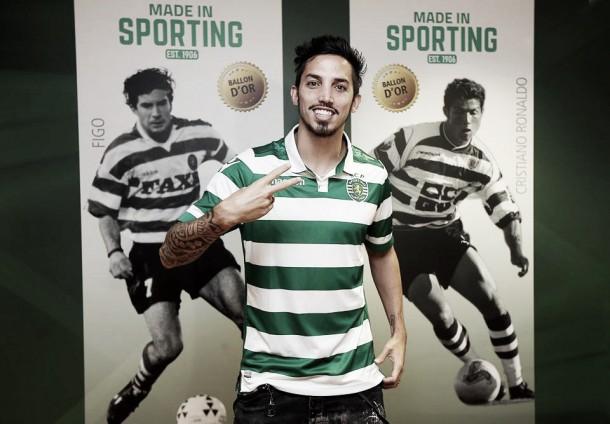 Sporting: Ezequiel Schelotto já é leão e quer «ganhar muitos títulos»