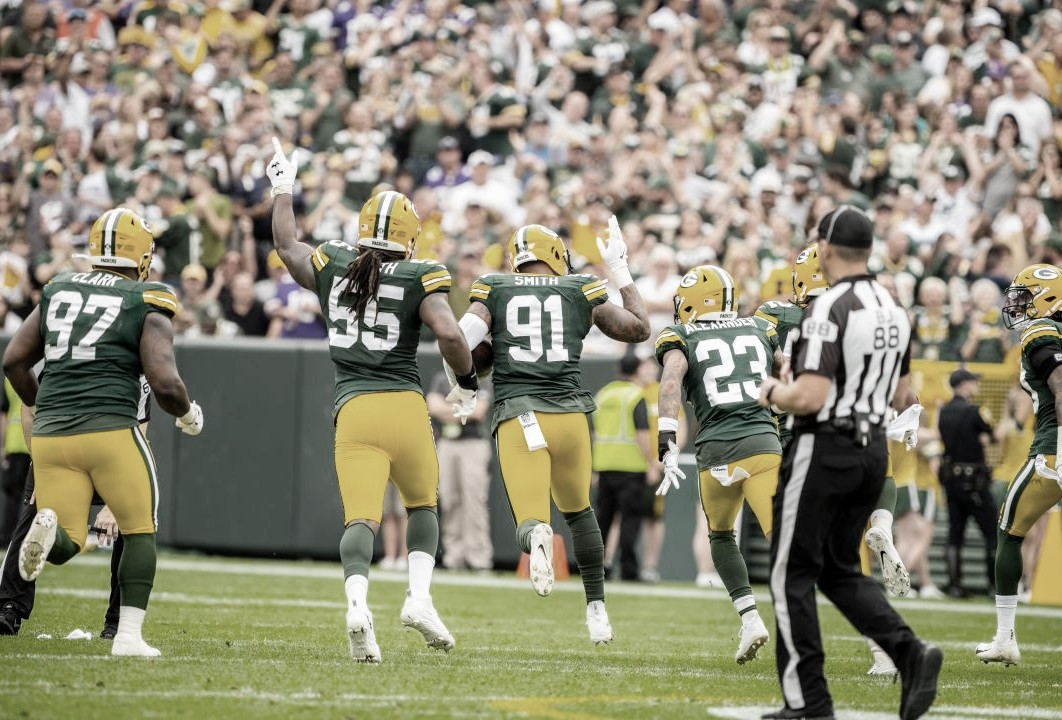 Los Green Bay Packers líderes de la NFC Norte