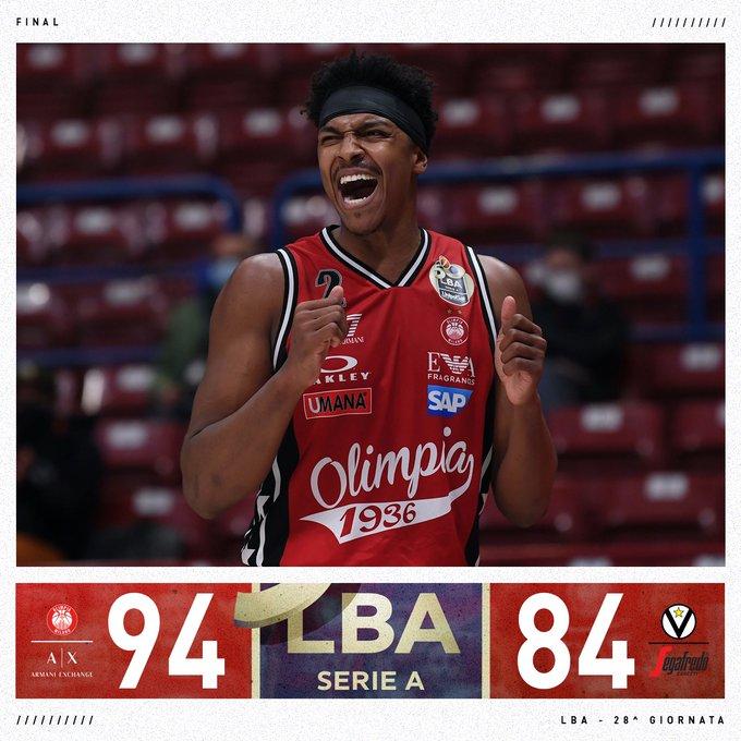 LBA - La Virtus ci prova, ma vince Milano con uno strepitoso Shields