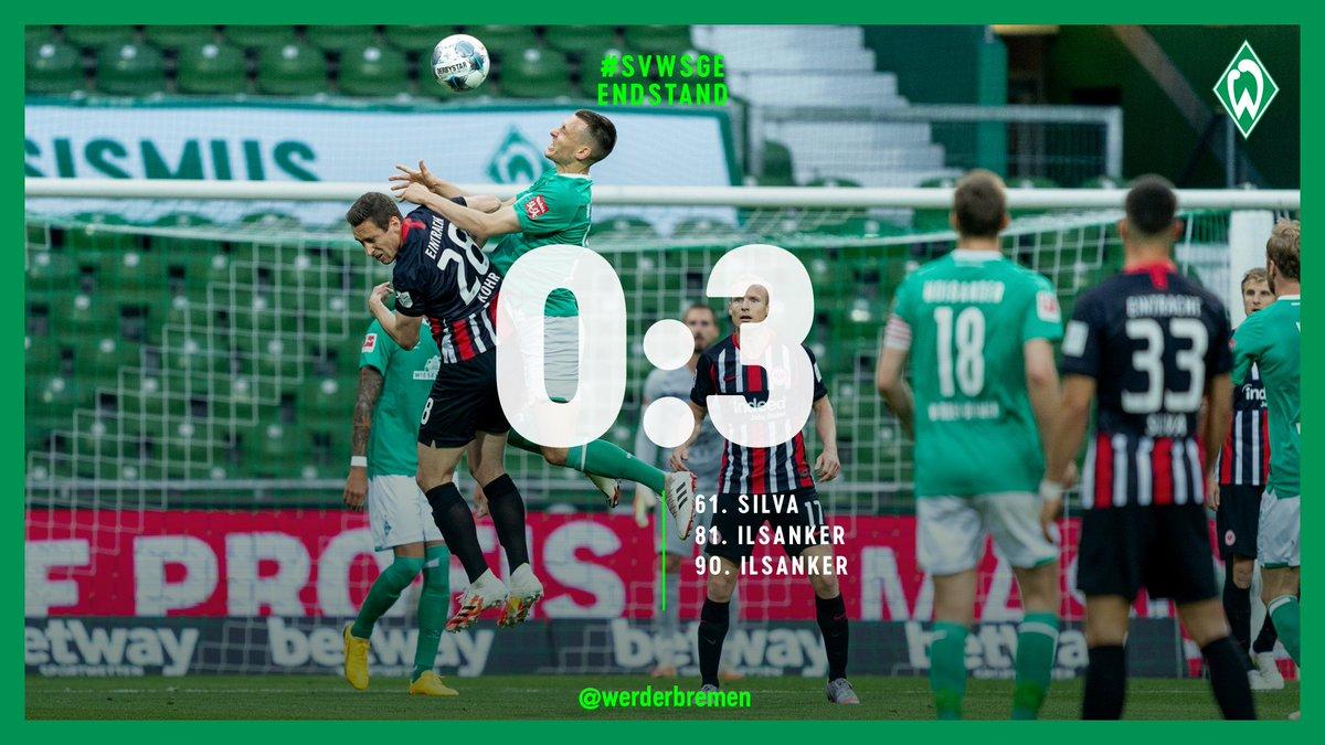 Il Francoforte non ha pietà: Werder travolto 3-0