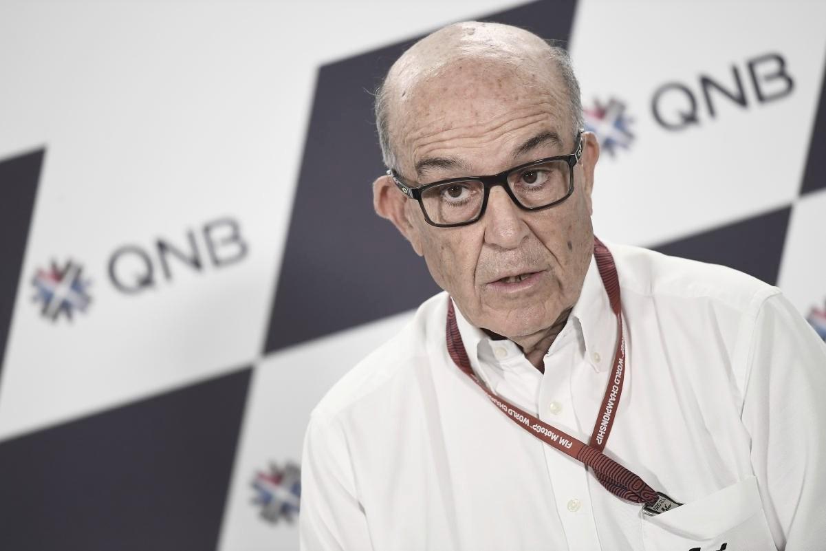 """Carmelo Ezpeleta: """"A finales de julio comunicaremos si hay carreras de fuera de Europa"""""""