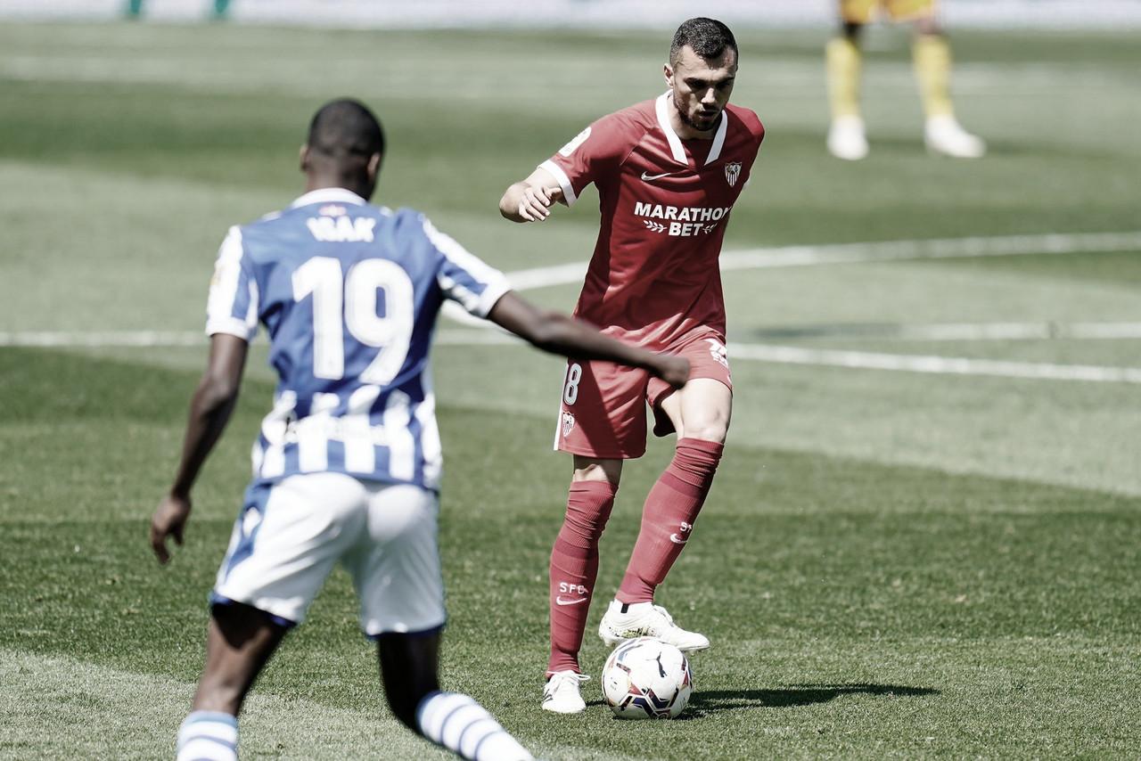 Sevilla venció a la Real Sociedad y se suma los de arriba