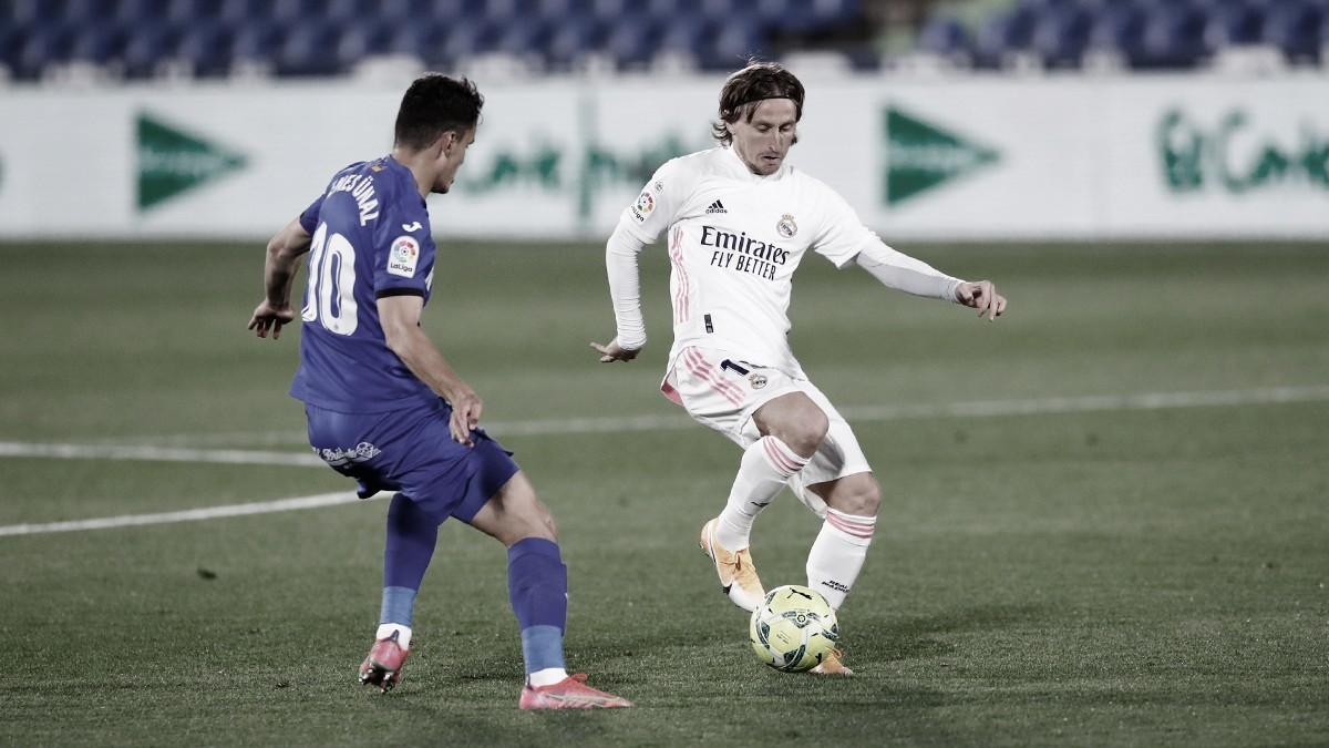 Getafe 0-0 Real Madrid: un derbi frenético en el Coliseum