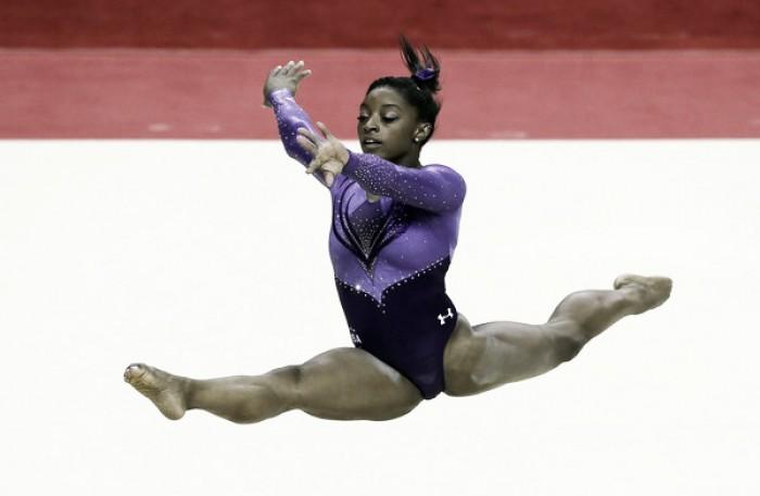 Gymnastics Olympic Trials Day 1 Recap Vavel Com