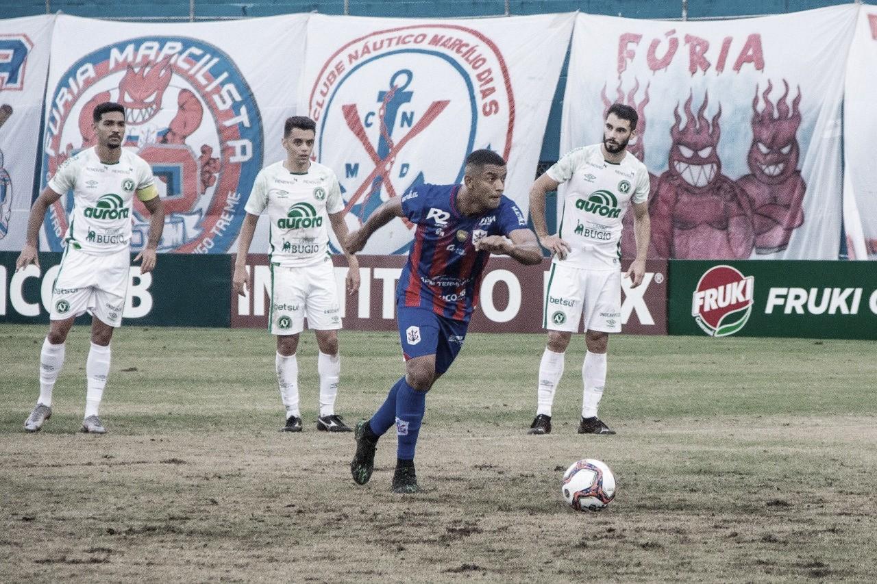 Em jogo de quatro gols, Marcílio Dias e Chapecoense empatam em Itajaí