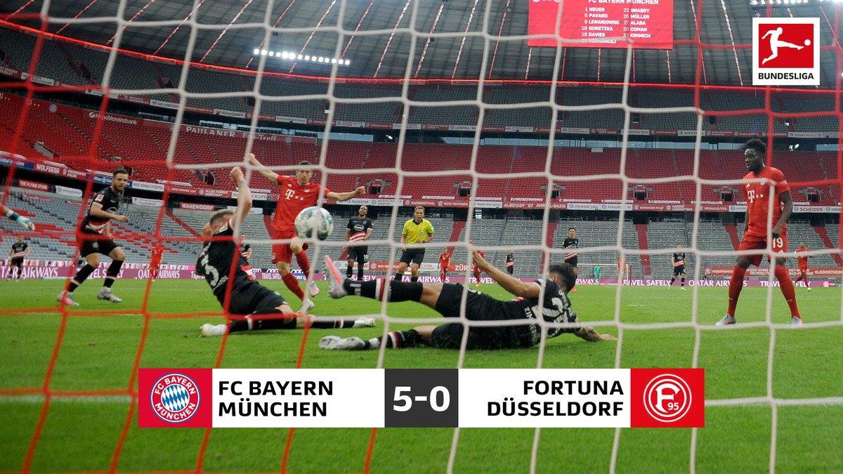 Il Bayern in casa non conosce mezze misure: 5-0 al Dusseldorf