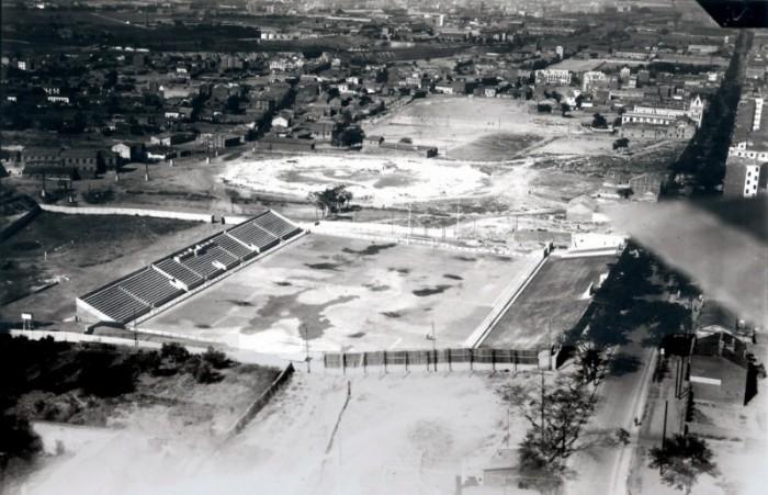 La historia del Estadio Puente de Vallecas