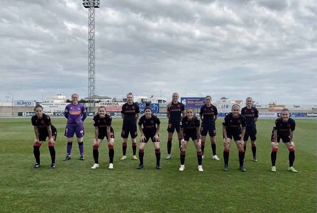 El Covid-19 ataca a la Real Sociedad femenino