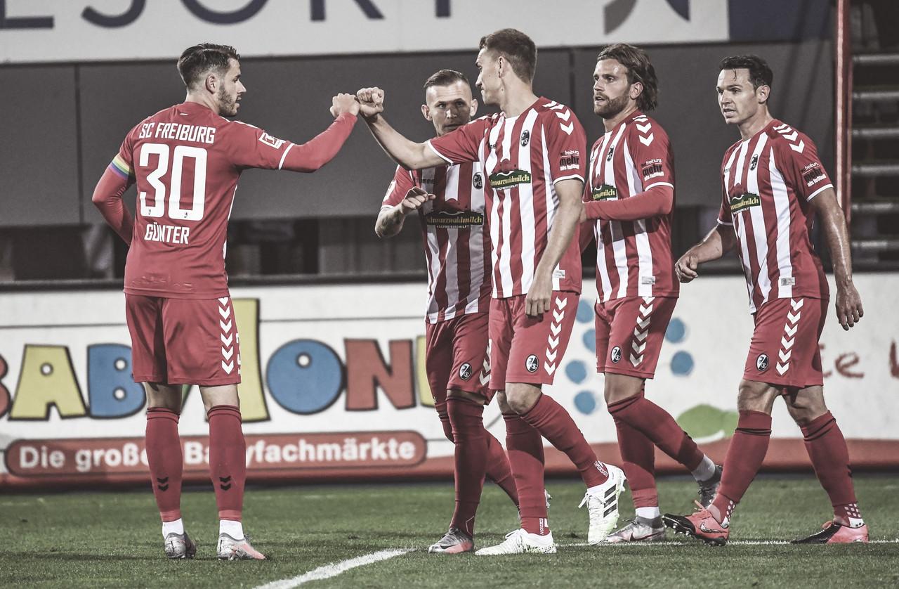 Freiburg conquista primeira vitória na retomada da Bundesliga em cima do Borussia Mönchengladbach