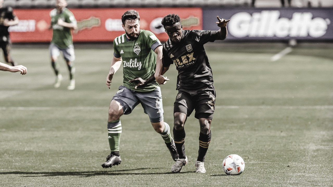 Los Angeles FC empata ante Seattle con muchas dudas