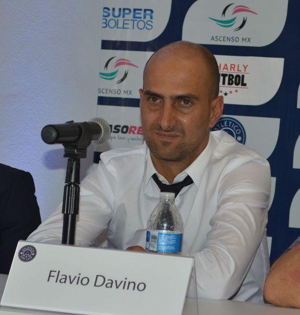 Flavio Davino, nuevo Director Técnico del Atlético San Luis