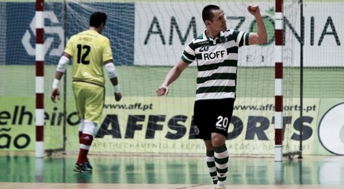 Futsal: Sporting vence derby e assume a liderança