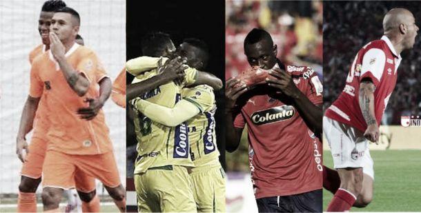 4 clasificados y 23 goles dejó la fecha 17 de la Liga Águila