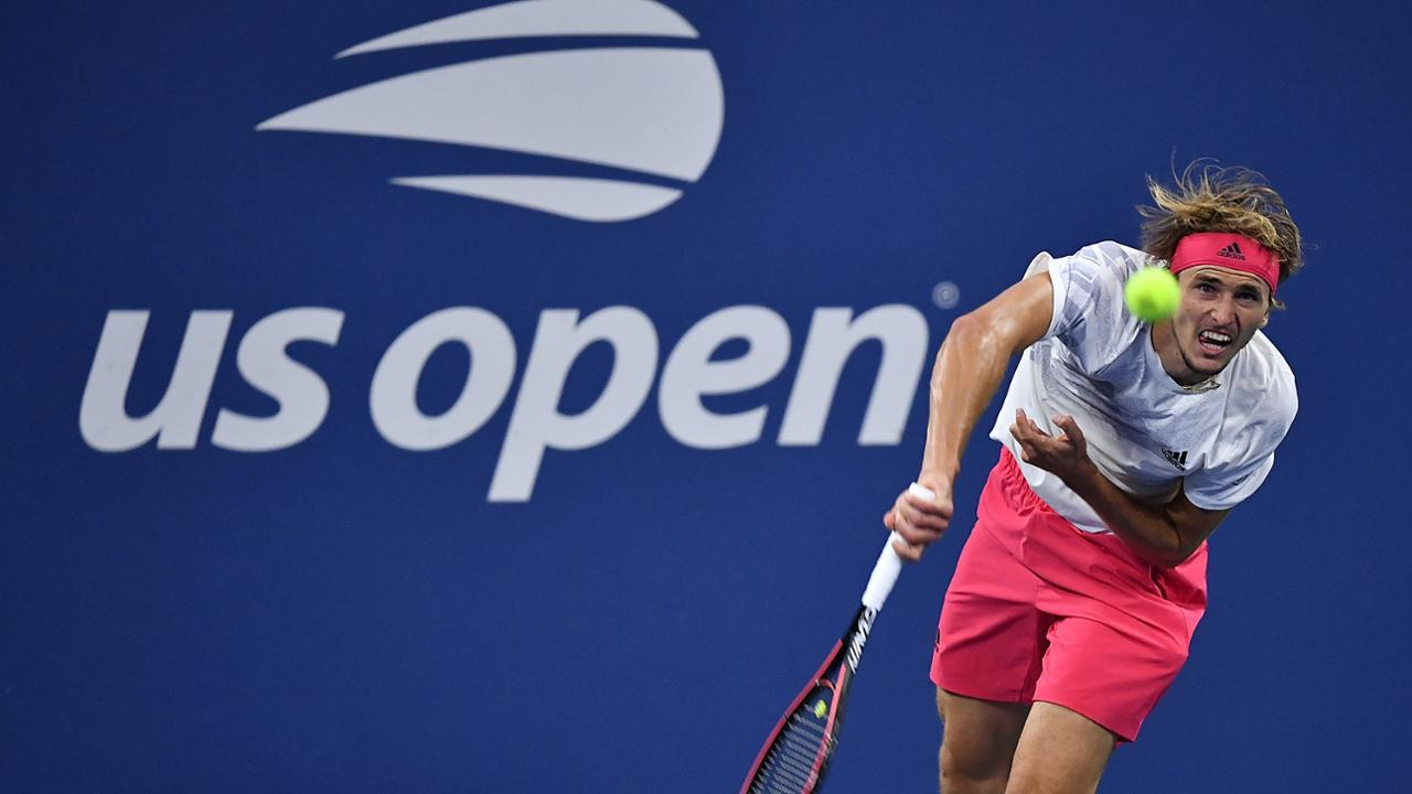 US Open: Alexander Zverev overcomes a slow start to beat Adrian Mannarino