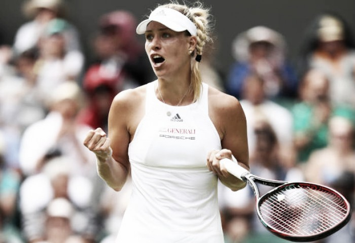 Kerber finds it tough going at the top