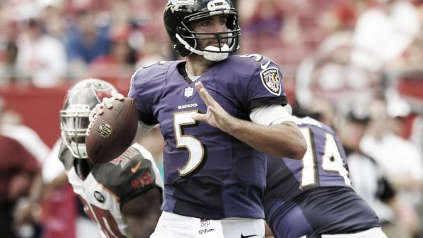 Los Ravens dominan totalmente a los Bucs