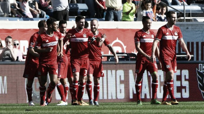 Chicago Fire look for a more consistent effort against D.C. United