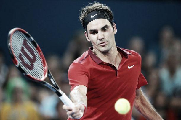 ATP Brisbane, un Federer di lusso