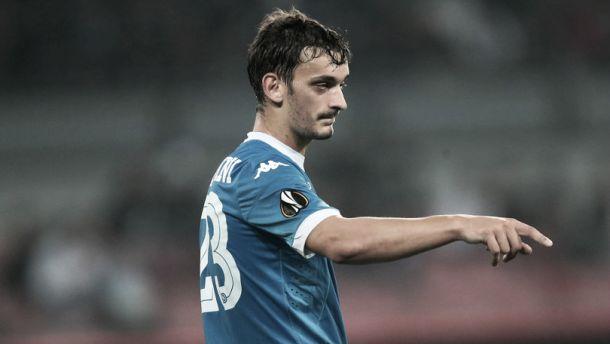 """Autor de dois gols na vitória do Napoli, Gabbiadini afirma: """"Seguiremos jogando para vencer"""""""