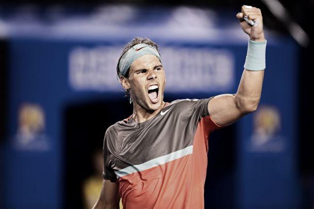 Nadal rompe los esquemas de Federer y se cita con Wawrinka